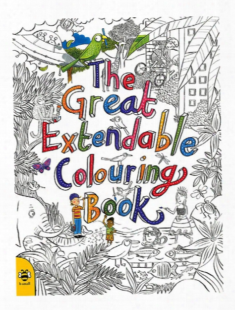 The Great Extendable Colouring Book Each