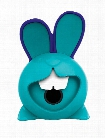 Croc Croc Rabbit 1 Hole Pencil Sharpener card of 1