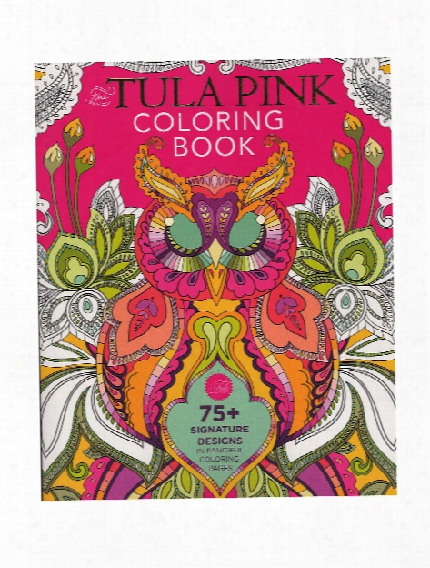 Tulq Pink Coloring Book Each