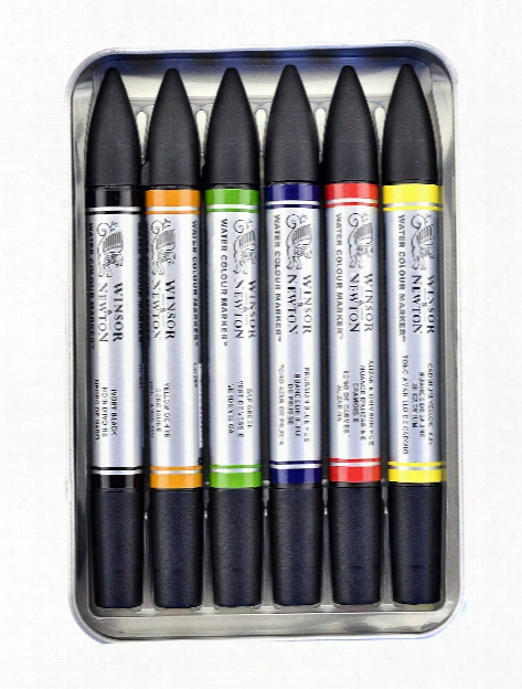 Water Colour Markers Sets Set Of 6
