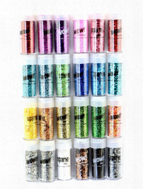 Wow Glitter And Spark Tinsel Mixed Set Pack Of 24 Pack Of 24