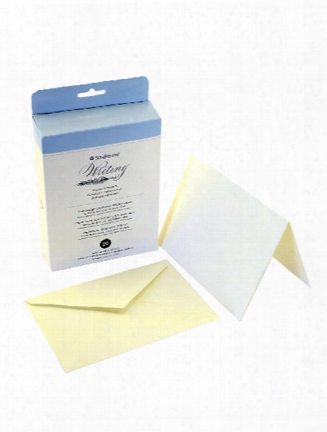 Writing Cards & Envelopes Corres Card Flat And Envelopes 4.5 In. X 6.25 In. Pack Of 20