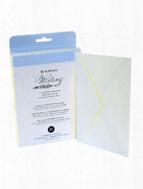 Writing Envelopes Corres Pack 6 In. X 8 In. Pack Of 25