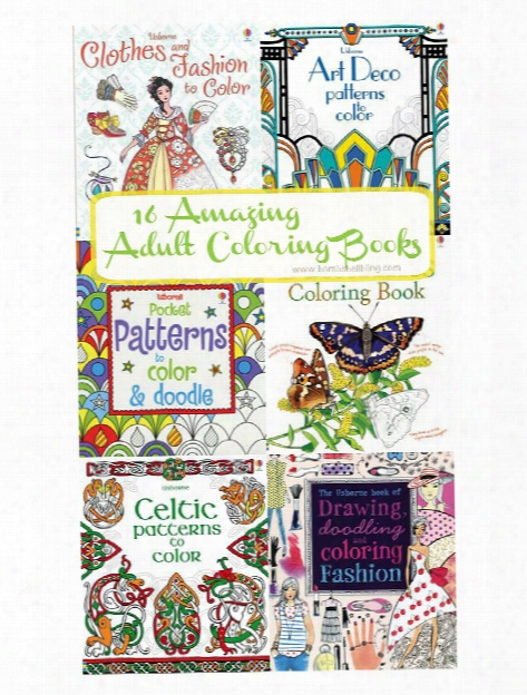 Adult Coloring Books Art Designs To Color
