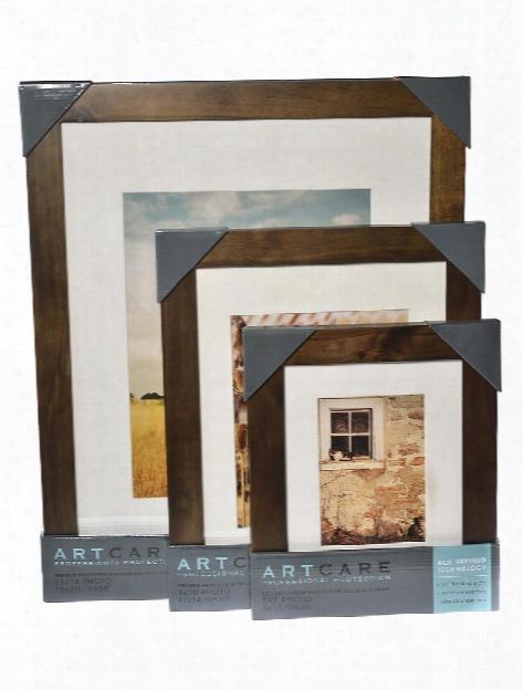 Arcadia Wood Frames 8 In. X 10 In. Hazelnut 5 In. X 7 In. Opening