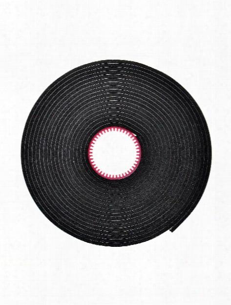 Black Crafty Foam Tape Roll .375 In. X 13 Ft. Roll