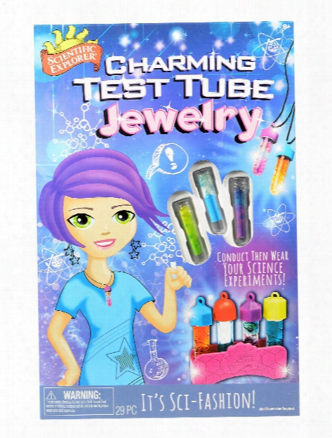 Charming Text Tube Jewelry Each