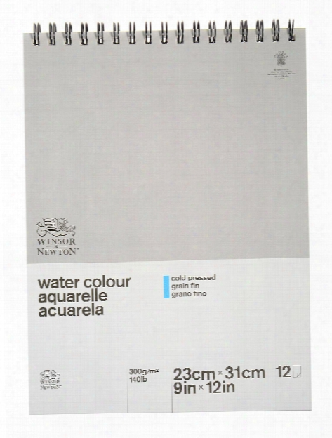 Classic Water Colour Paper Pads 140 Lb. Cold Press Spiral Bound 9 In. X 12 In.