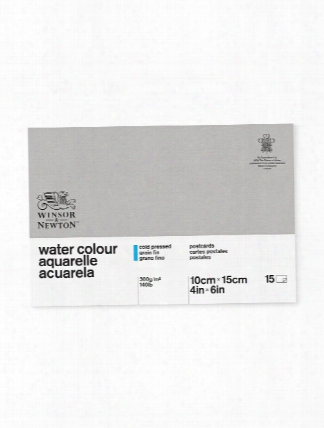 Classic Water Colour Paper Postcard 140 Lb. Cold Pressed 4 In. X 6 In.