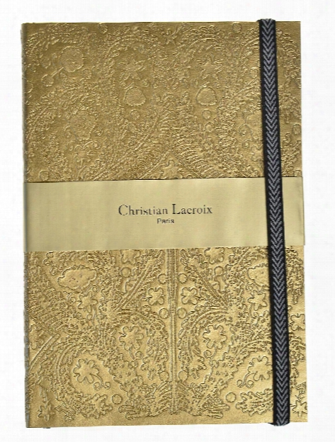 Embossed Paseo Notebooks Silver 6 In. X 8 In.