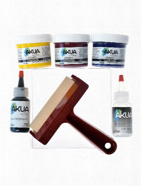Gel Printing Kits Speedball Monoprinting Starter Set