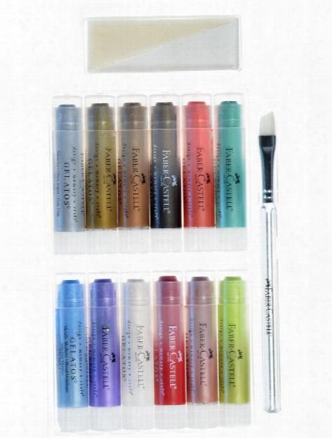 Gelatos Color Sets Pastels 15 Pieces