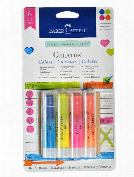 Gelatos Colors Highlighters Set Of 4