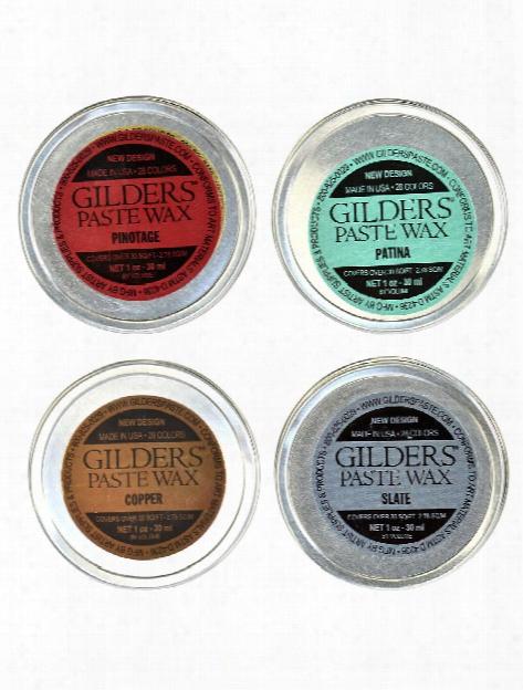Gilder's Paste Wax African Bronze 1 Oz. Tin