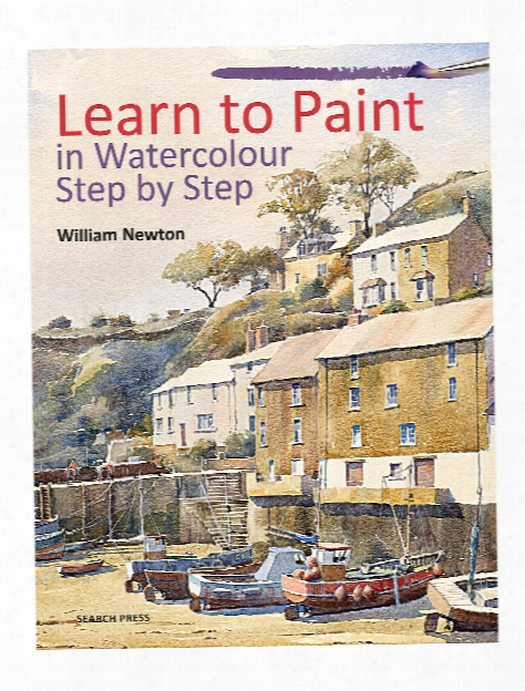 Learn To Paint In Watercolour Step By Step Each
