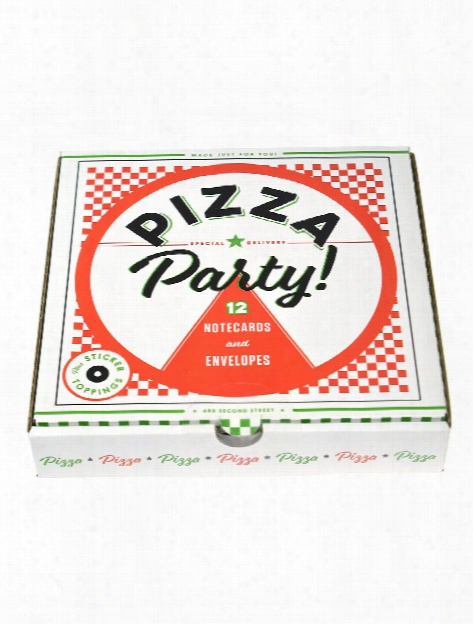 Pizza Party Notecards Each
