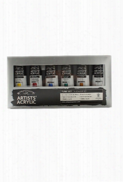 Professional Acrylic Colour Basic Set Set Of 6