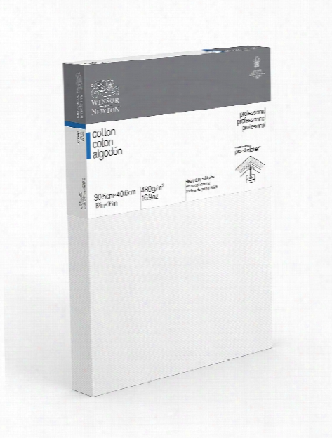Professional Cotton Stretched Canvas Deep Edge 4 In. X 6 In.