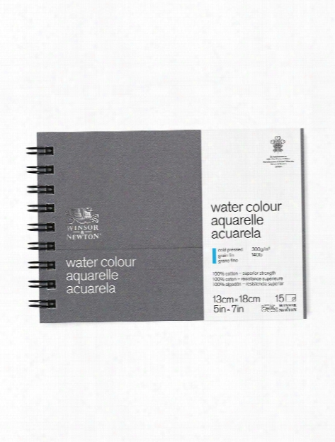 Professional Water Colour Paper Journal 140 Lb. Cold Pressed 5 In. X 7 In.