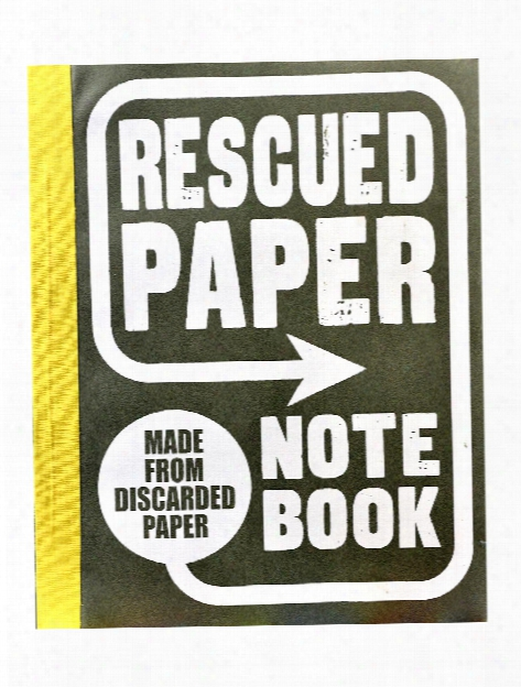 Rescued Paper Large Notebook