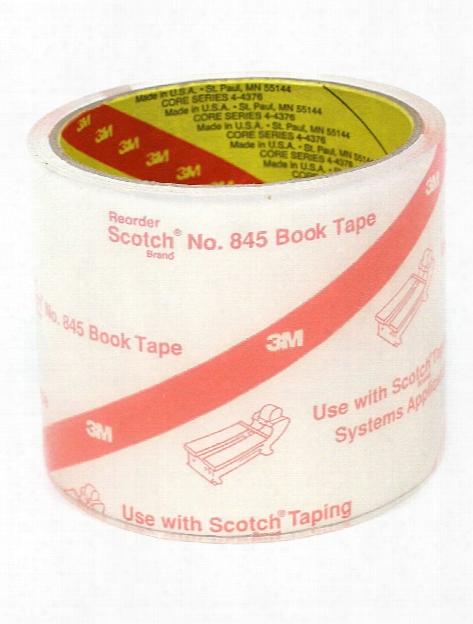 Scotch Book Tape 845 3 In. X 15 Yd. Roll