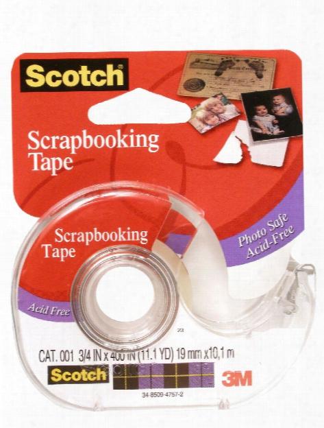 Scrapbooking Tape 3 4 In. X 400 In. Roll