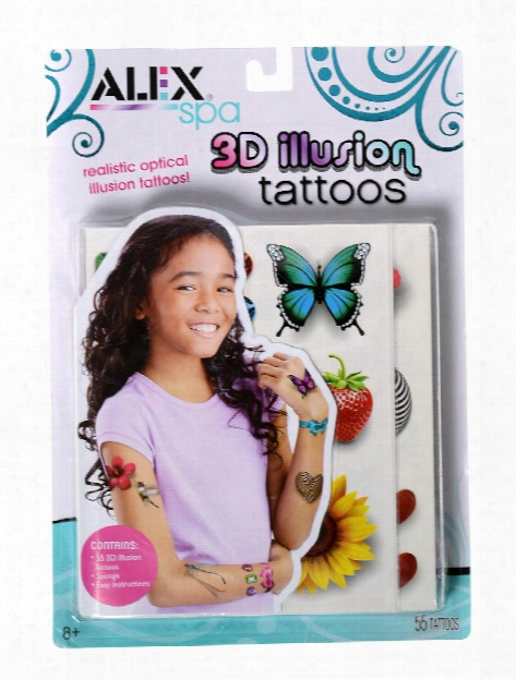 Spa 3d Illusion Tattoos Each
