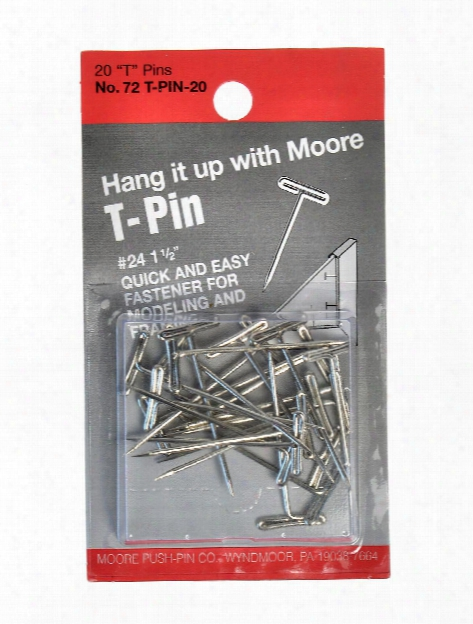 T-pins Pack Of 20