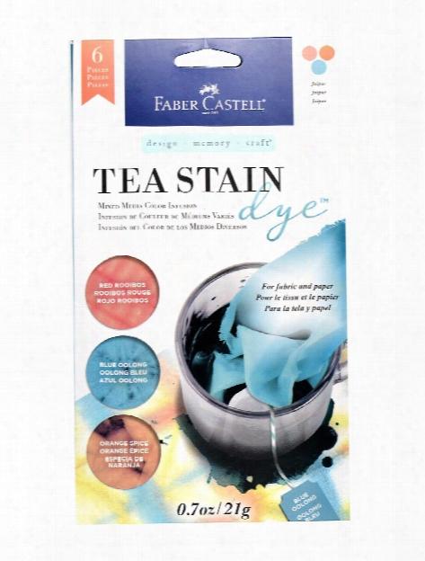 Tea Stain Dye Agar Set Of 3