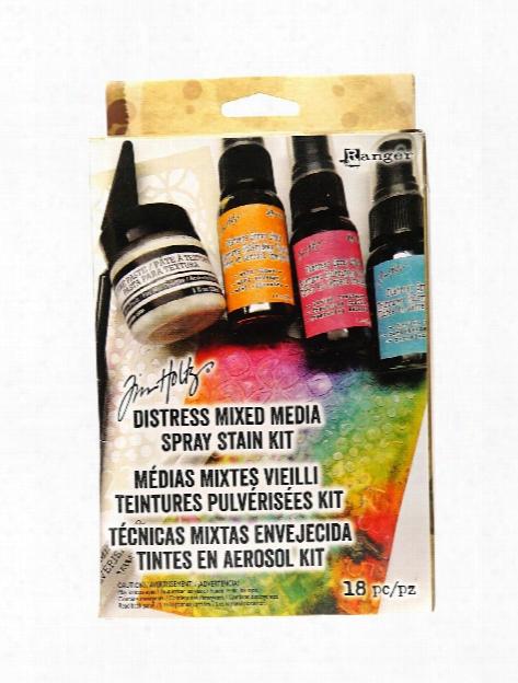 Tim Holtz Distress Mixed Media Spray Stain Kit Each