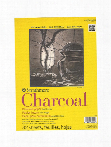 300 Series Charcoal Paper Pads 9 In. X 12 In. 32 Sheets