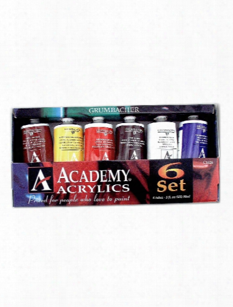 Academy Acrylic Introductory Set Set Of 6