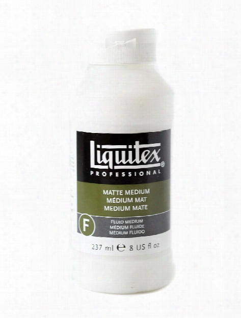 Acrylic Matte Medium 4 Oz.