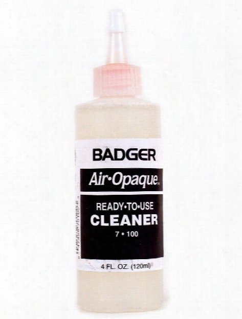Air-opaque Cleaner 4 Oz. Bottle