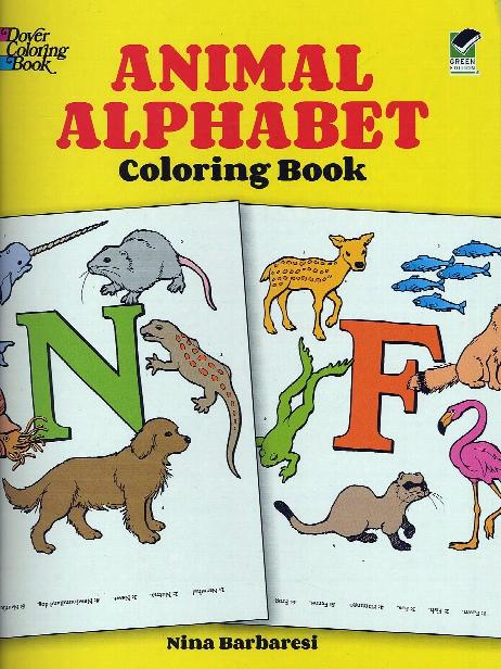 Animal Alphabet-coloring Book Animal Alphabet-coloring Book