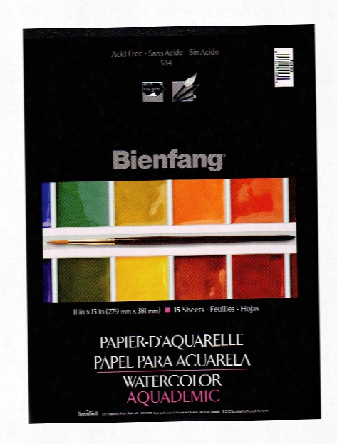 Aquademic Watercolor Pads 9 In. X 12 In. Pad Pad Of 15