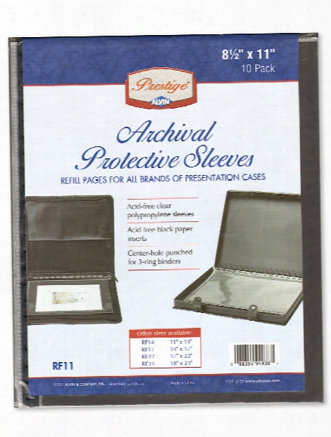 Archival Refill Pages 22 In. X 17 In. Pack Of 5