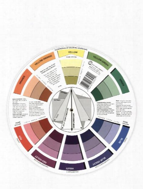 Artist Mixing Guide Color Wheel Color Wheel