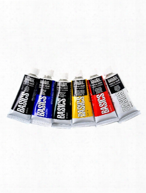 Basics Acrylic Color Introductory Assortment Set Of 6