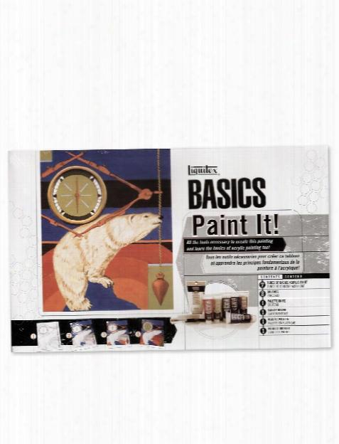 Basics Acrylics Paint It Set Each