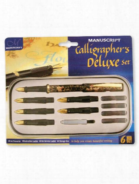 Calligrapher's Deluxe Set 6 Nib Deluxe Set