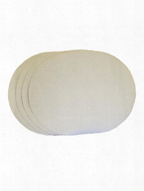 Canvas Placemats Oval Pack Of 4
