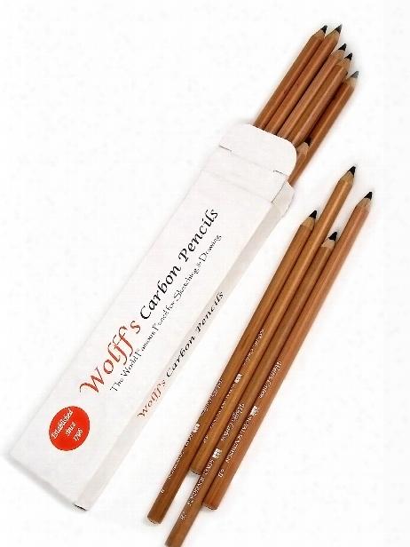 Carbon Pencil B Each