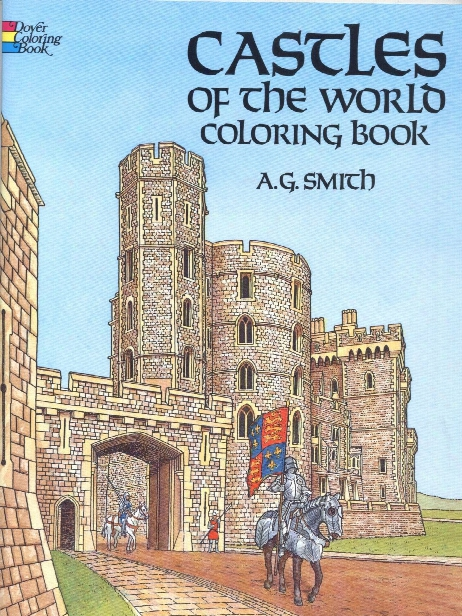 Castles Of The Orld-coloring Book Castles Of The World-coloring Book