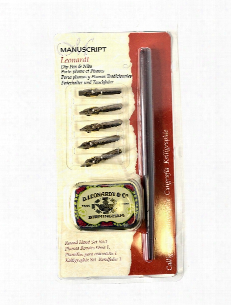 Chronicle Round Hand 1 Dip Pen Set Round Hand 1 Set