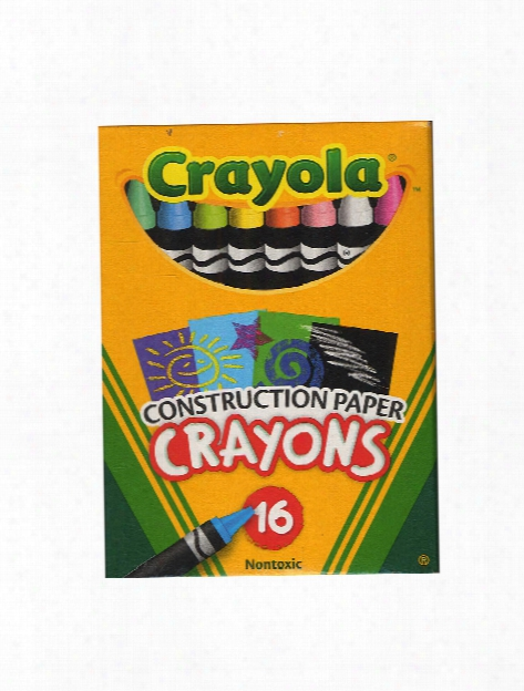 Construction Paper Crayons Box Of 16