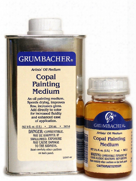 Copal Painting Medium 8 Oz.