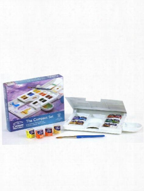 Cotman Water Colour Compact Set Set Of 14