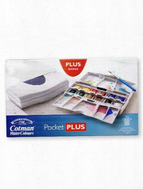 Cotman Water Colour Pocket Plus Set Each