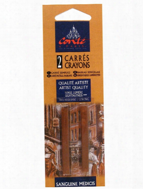 Crayons Sanguine Natural B Pack Of 2
